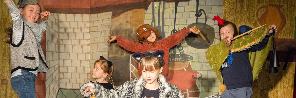 Kindertheaterkurse Pfingstferien - 1. Woche